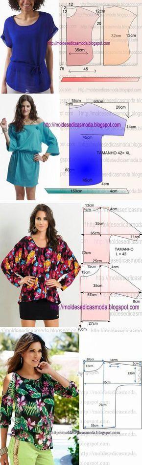 Camisas + patrón