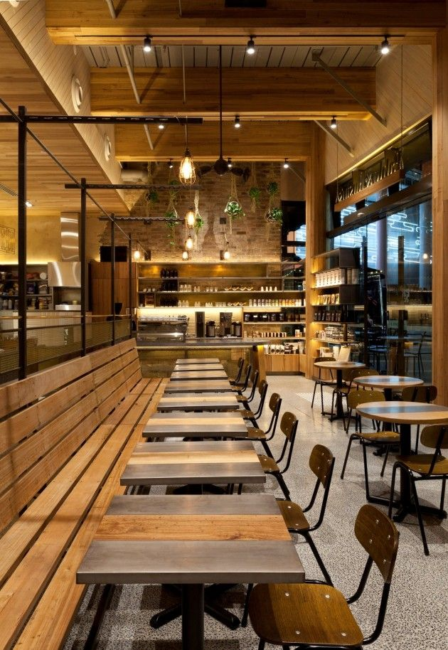 Pablo Rusty's / Giant Design #restaurant #cafe #industrial #rustic #eclectic