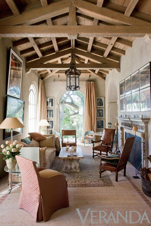 582 best beautiful interiors images on pinterest for for Beautiful ceilings and interiors