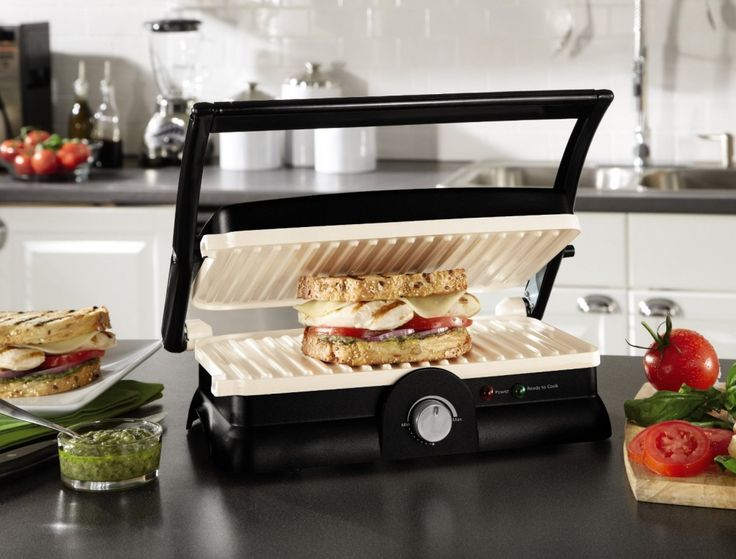 Oster DuraCeramic Panini Maker and Gril - $39