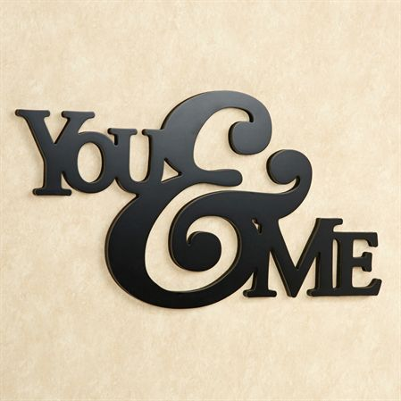 you and me word wall art word wall art metal working on word wall id=81488