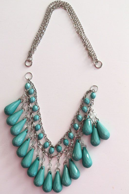 How To Make a Teardrop Necklace in 3 steps!