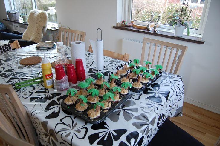 Øde ø cupcakes
