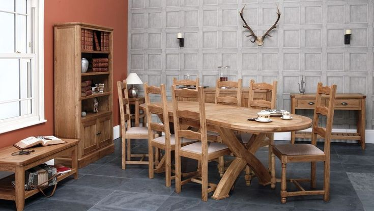 Cottage Oval Dining Table