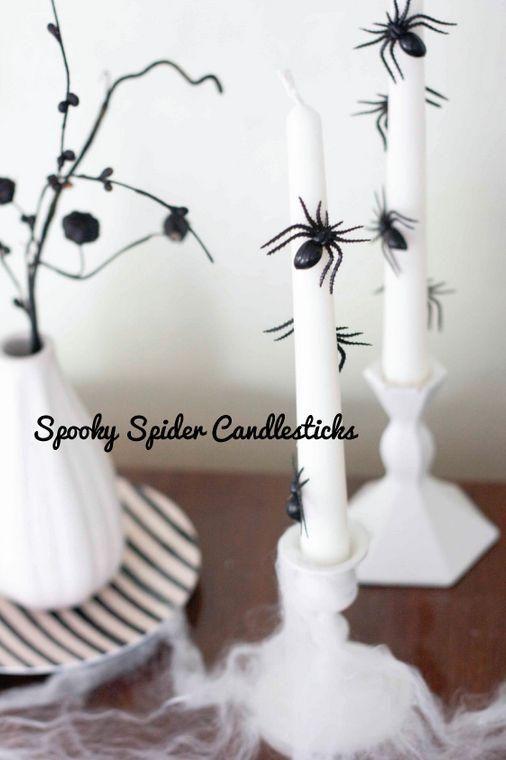 Reine weiße Halloween-elegante Ideen 4