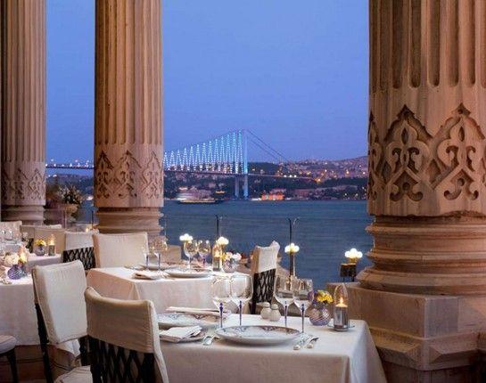 Tugra Restaurant & Lounge, Ciragan Palace, Istanbul, TURKEY
