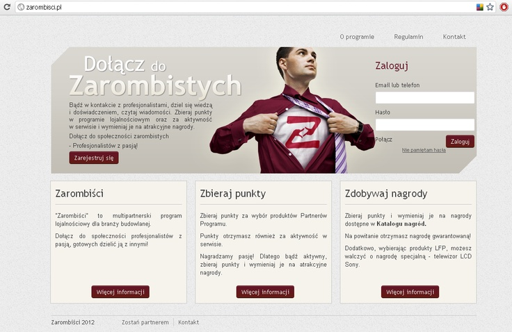 http://zarombisci.pl has been founded as a networking platform operating a loyalty program based on points & prize system. Netguru team helped to move the project forward by bringing to life the new version of the site and taking care of its entire technological part. The main focus was to make it both user-friendly and functional. Members can communicate with each other, create and join thematic grups, as well as earn additional activity points e.g. for ranking posts or inviting new…