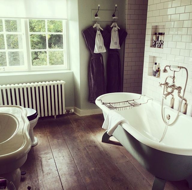 Bathroom at Babington House