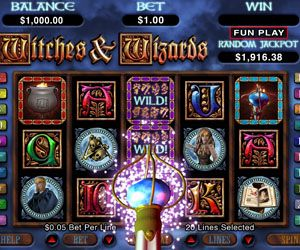 Wild Wizards Video slot Wizards and cats, oh my,crystal balls and bats that fly.play wild Wizards HD Video slot