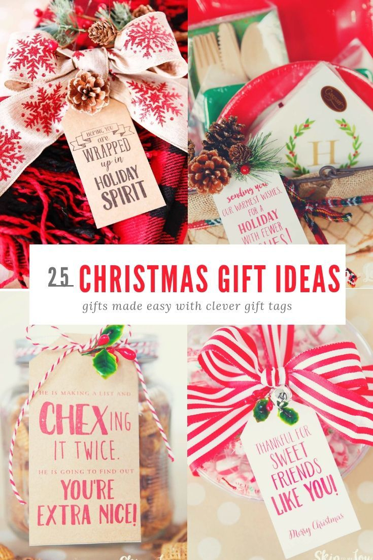 Christmas Gift Ideas Easy Christmas Gifts Small Christmas Gifts Teacher Christmas Gifts