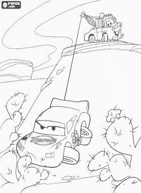 Disney Pixar Cars Coloring Pages