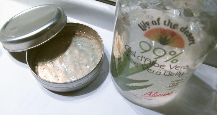 Les cheveux de Mini: Fabriquer un gel coiffant 100% naturel (et bio) !