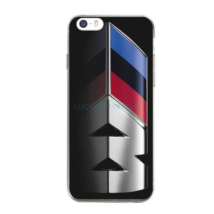 For BMW M series M3 M5 car Logos For IPhone 7 7 plus 6 6S Plus Phone Case Ultra slim silicone Soft Tpu Phone Cover