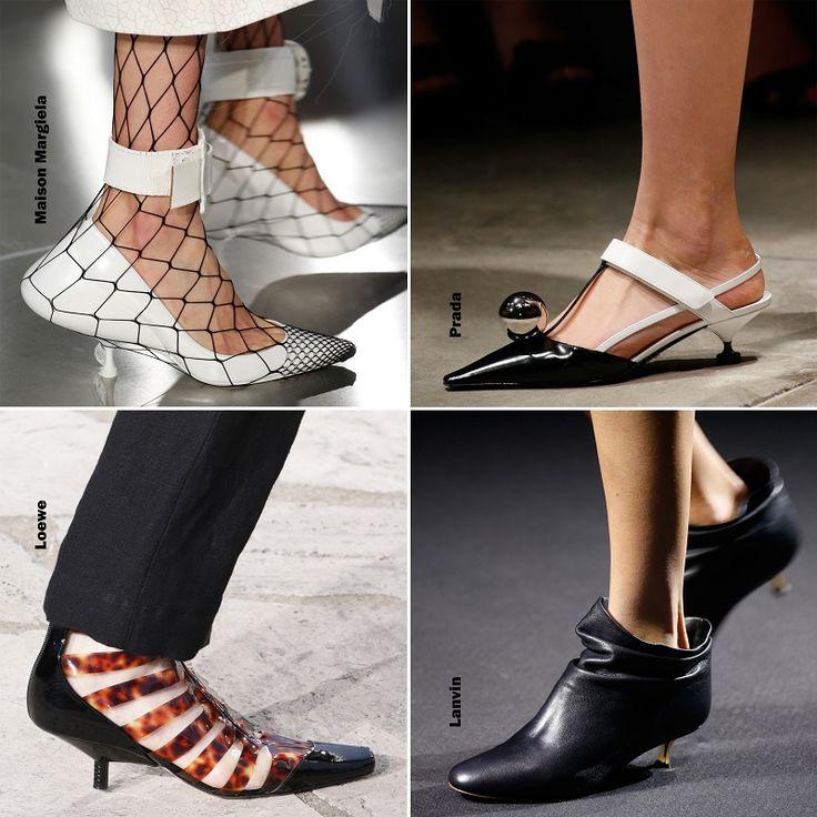 Shoe trends Spring 2016 - Kitten heels / Cipő divat 2016 tavasz - Törpesarok