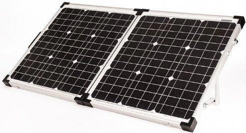 Go Power Gp Psk 80 80w Portable Folding Solar Kit With 10 Amp Solar Controller Zamp Solar Camping Solar Panels Go Solar Kit Solar Panels Best Solar Panels