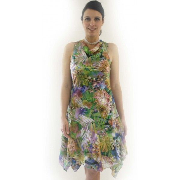 Woniah Paradise Print Dress