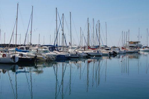 The marina in Cap d'Agde