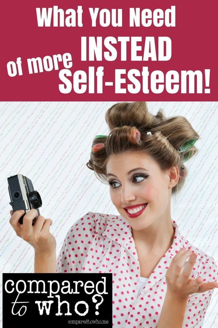 Self-esteem won't work if you are trying to improve your body image -- check out this encouraging article about what you really need!