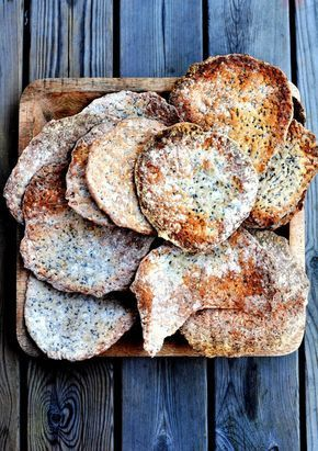 knäckebröd--eaten in Sweden since the time of the Vikings who took the cracker on their ships #history #food #medieval