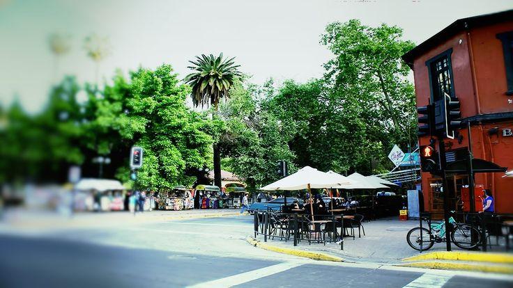 Plaza Ñuñoa Unos de los Mejores Barrios de Santiago. - Hostal hostel en ñuñoa - Santiago Centro