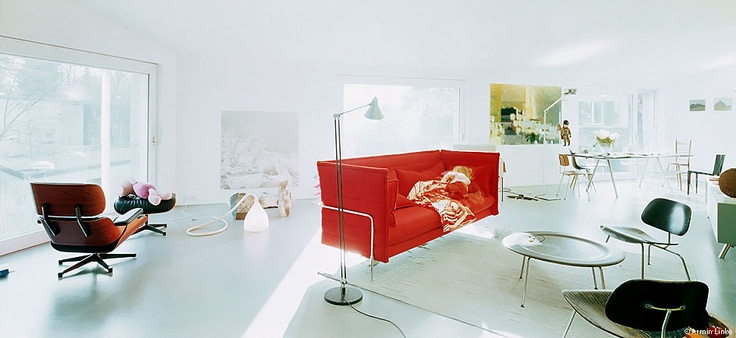 Alcove Sofa by Vitra and Ronan & Erwan Bouroullec