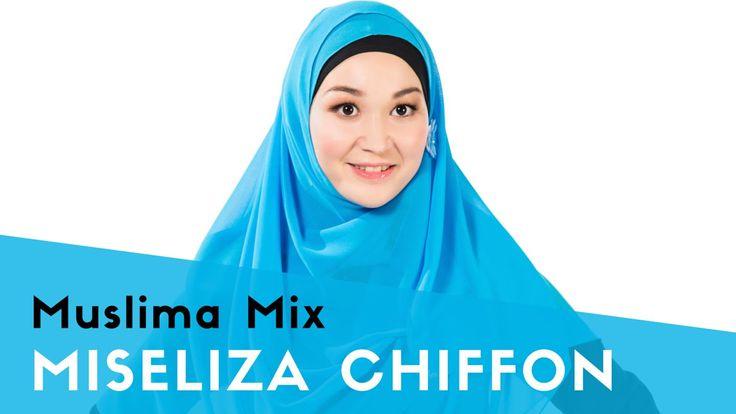 """Как одевать хиджаб быстро: MISELIZA CHIFFON - #9 модель коллекции """"Мгновенные хиджабы""""    {{AutoHashTags}}"""