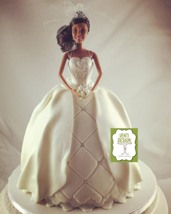 Cake Decoration Doll : 342 best images about Barbie Doll Cakes on Pinterest