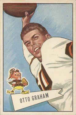 1952 Bowman  Otto Graham