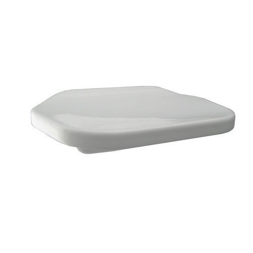 Style Selections White Cantilevered Soap Dish  Price : $10.00 http://www.hadburyhouse.com/Style-Selections-White-Cantilevered-Soap/dp/B007X65F0O