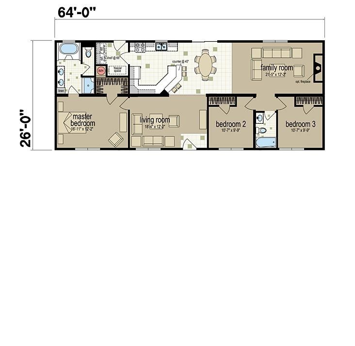Floor Plans The Hamlet Manufactured And Modular Homes For Mountain Cabin