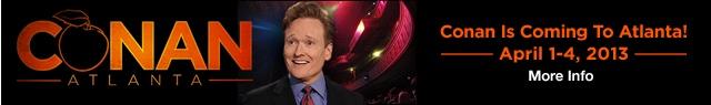 Request 'Conan' Show Tickets @ TeamCoco.com