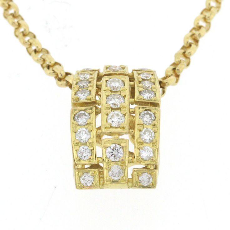 【商品名】K18 ゴールド ダイヤ 0.30ct ネックレス【中古】¥51,800【状態】A  多少の傷・汚れが見受けられますが全体的には綺麗な状態の中古商品です。