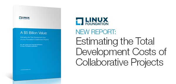 Estimating the Total Development Cost of Linux Foundation's Collaborative Projects