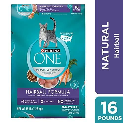 Purina One Hairball Formula Adult Dry Cat Food In 2020 With