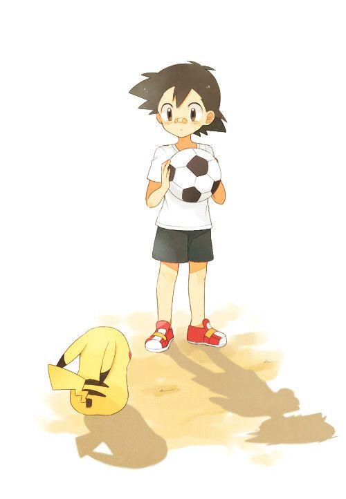 May (Pixiv Id 233774), GAME FREAK, Nintendo, Pokémon, Pikachu, Satoshi (Pokémon)