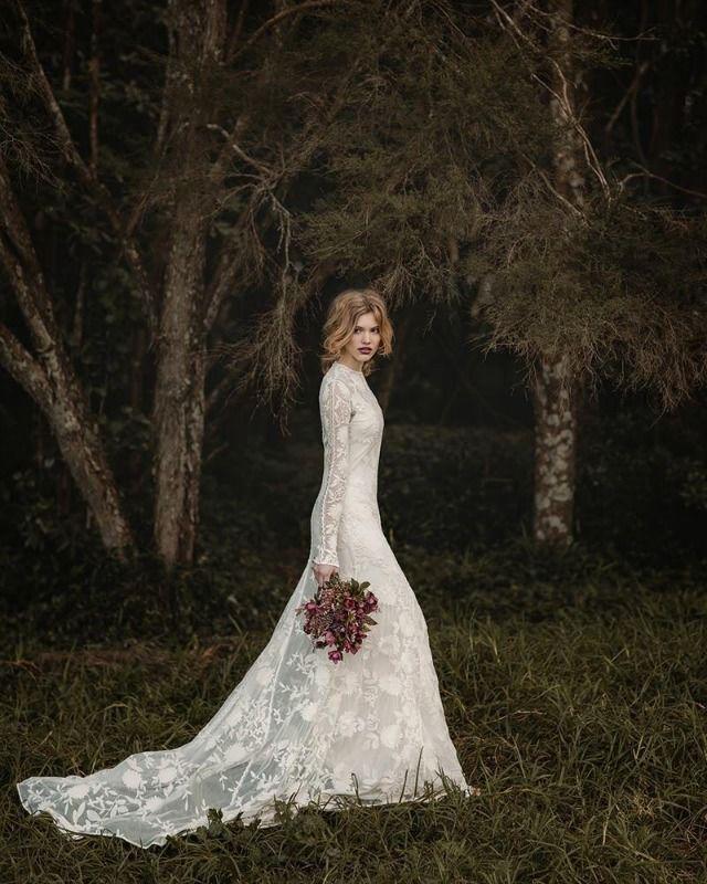 THE NORWEGIAN WEDDING BLOG : Brudekjoler fra Rue de Seine - Bohemian and Vintage Bridal Inspiration