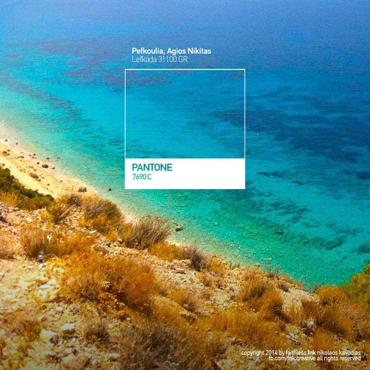 all the colors of lefkada