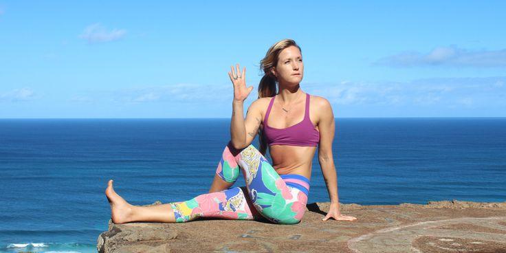 YOGA - Vous souvenez-vous lorsque vous avez décidé de faire plus de yoga? Vous vous êtes assis au fond de la classe pendant que le professeur disait des choses ridicules comme &ldq