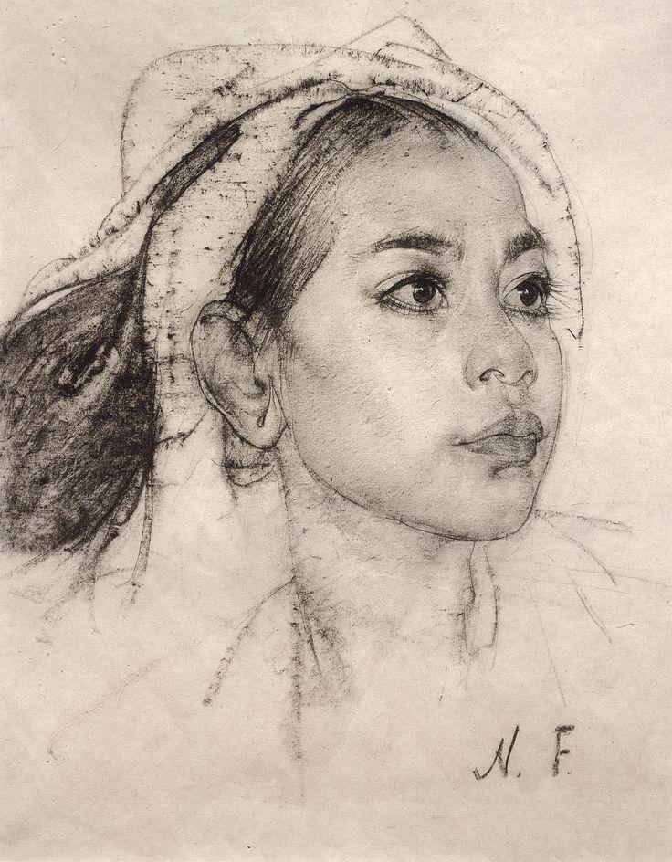 Francis Vallejo | inspiration: nicolai fechin geb. 1881-1955