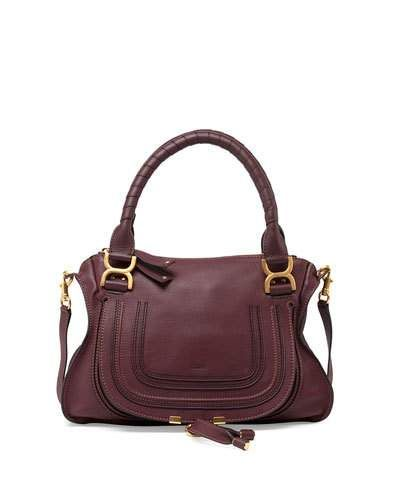 Chloe Marcie Medium Satchel Bag, Bordeaux..not sure if they still make this color $2350