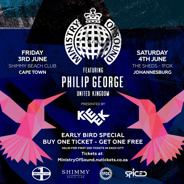 On Friday 3 June 2016, Shimmy Beach Club will play host to one of the world's most iconic dance music brands, 'Ministry Of Sound'.
