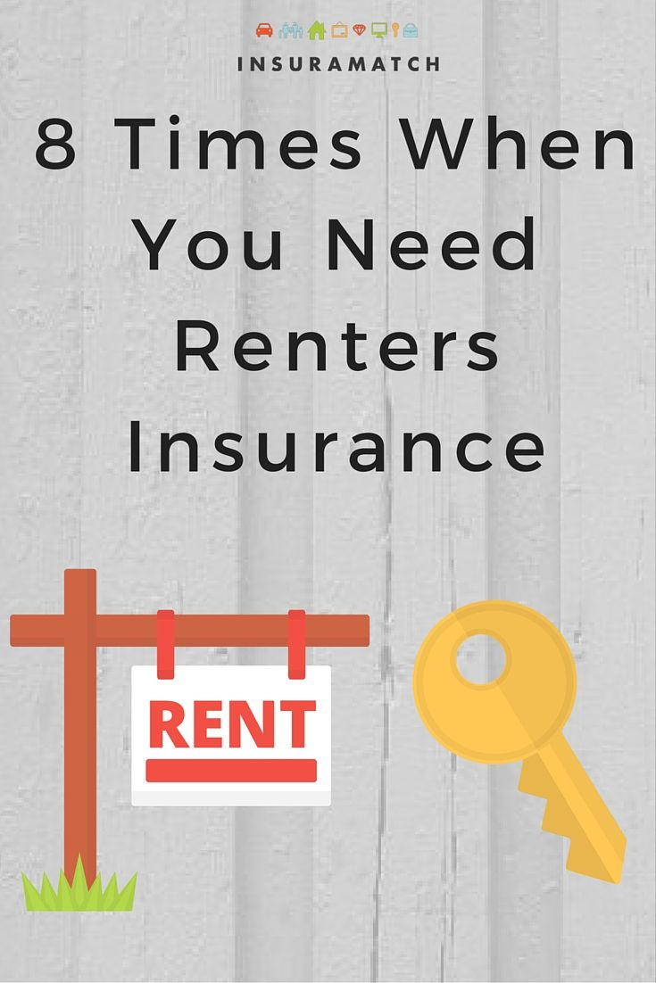Don't think you need renters insurance. Think again. Get coverage for these scenarios and many other things that can happen in the life of a renter.