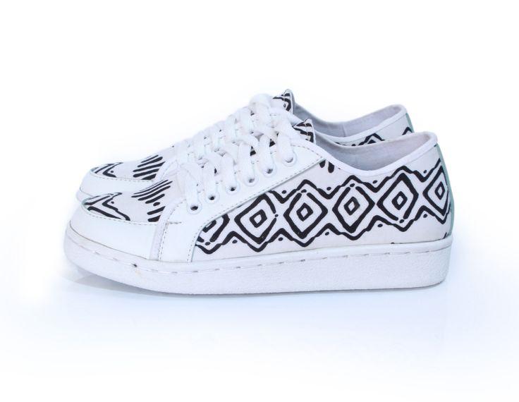moki sneakie  #sneaker #shoes #fashion  #tosca #pattern #cute #handmade