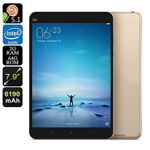 Xiaomi Mi Pad 2 Android Tablet - 7.9 Inch Display, Quad-Core CPU, 64GB Memory, 6190mAh, Dual-Band Wi-Fi, 2GB RAM (Gold)   Xiaomi Mi Pad 2 is a 7 inch Android Tablet that holds a powerful quad-core CPU and 2GB of RAM. Read  more http://themarketplacespot.com/xiaomi-mi-pad-2-android-tablet-7-9-inch-display-quad-core-cpu-64gb-memory-6190mah-dual-band-wi-fi-2gb-ram-gold/