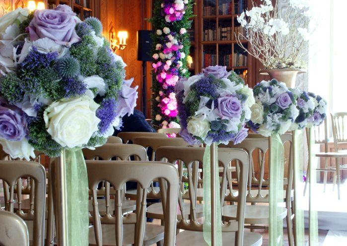white and violet roses. blumenkultur