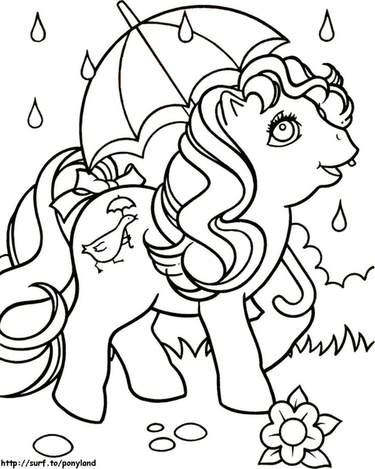 31 best my little pony coloring pages images on Pinterest  Ponies