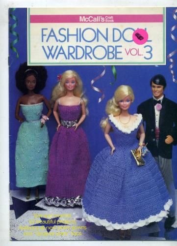 Fashion Doll Wardrobe, Vol. 3, Volume 3 : McCall's Craft Book, Knit and Crochet: