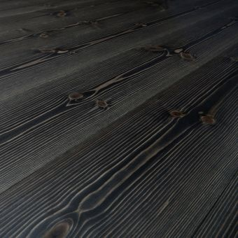 Staining Our Wood Floors Black Would Be A Bold Move, But I Think It Would  Look Very Cool And Elegant!