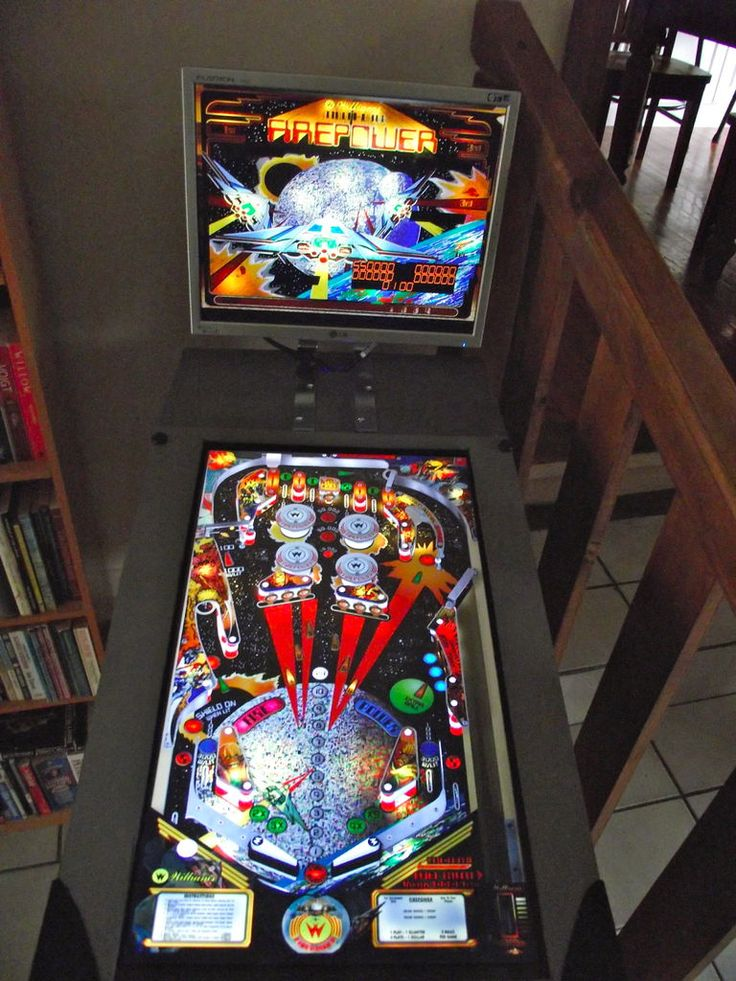 build your own pinball machine