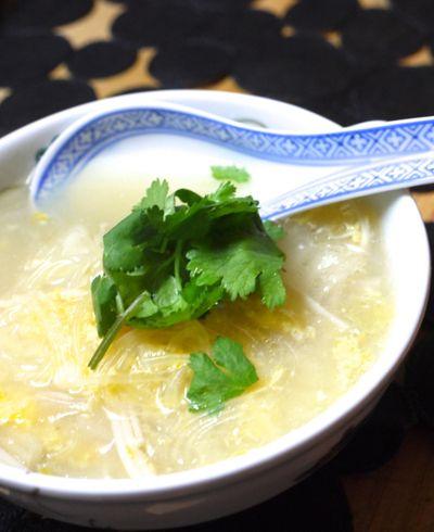 白菜と春雨のサンラータン風スープ by ナナさん | レシピブログ - 料理 ...